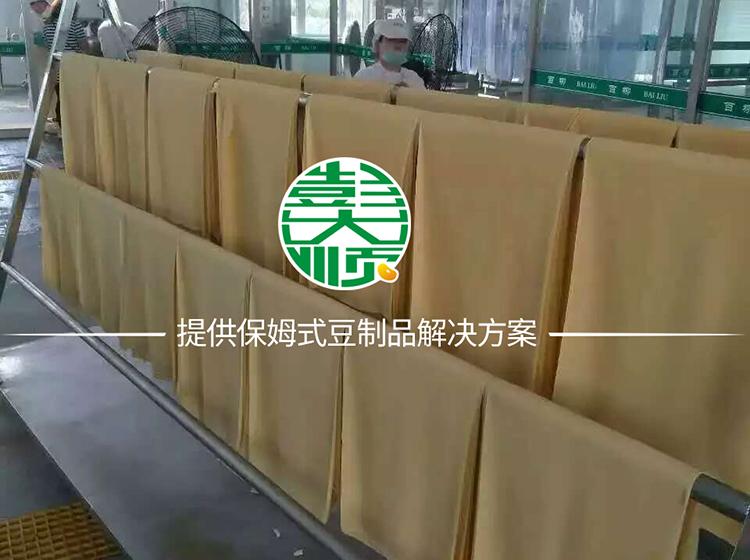 彭大顺干豆腐生产线制作出来的干豆腐产品