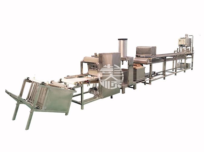 豆腐皮机生产线