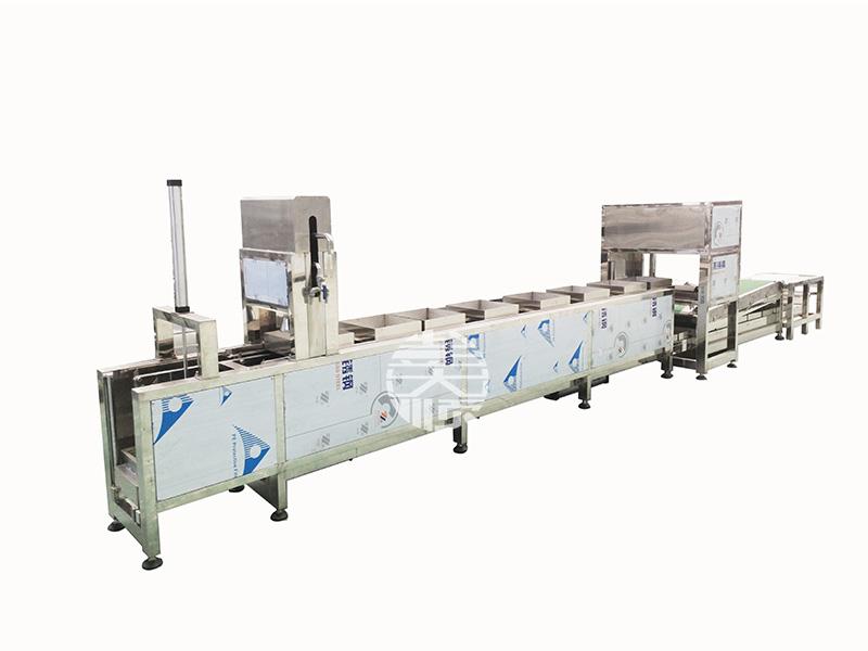 冲浆豆腐机生产线