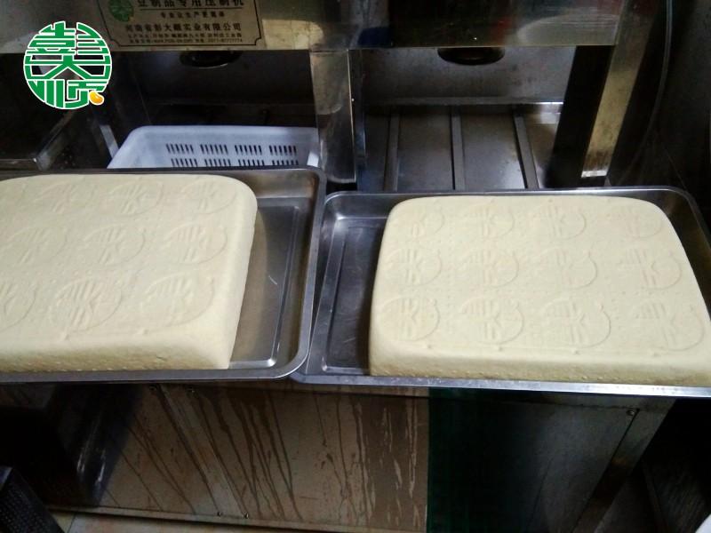 长治加盟店做出的成品豆腐